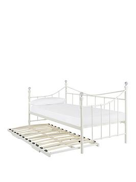 Very Ruby Day Bed With Trundle - Bed With Fold-Away Trundle Picture