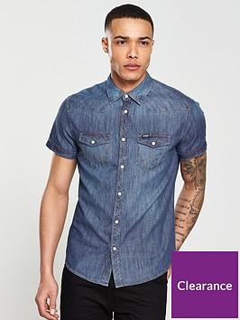 wrangler-wranglerwestern-denim-short-sleeved-shirt