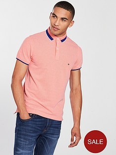 tommy-hilfiger-oxford-tipped-slim-polo