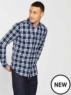 wrangler-one-pocket-checked-shirt
