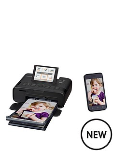 canon-selphy-cp1300-compact-wifi-photo-printer-black-with-optional-ink-and-paper