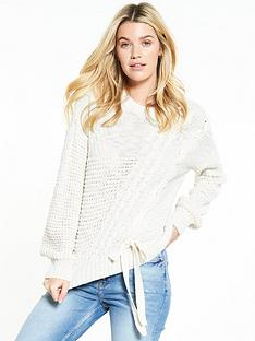 v-by-very-mixed-stitchednbsplace-up-jumper