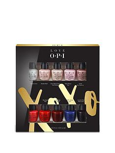 opi-christmas-xoxo-10pc-mini-nail-varnish-gift-set