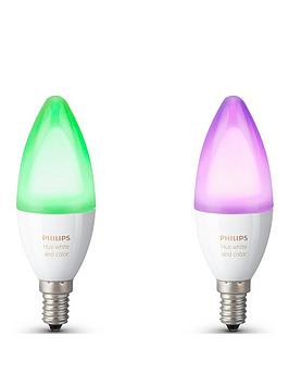 philips-hue-white-and-colour-ambiance-e14-double-pack