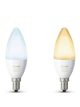 Philips Philips Hue White Ambiance E14 Double Pack Picture