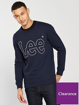 lee-jeans-logo-sweatshirt