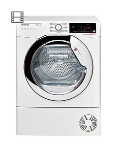 hoover-dxhy10a2tce-10kgnbsploadnbspheat-pumpnbsptumble-dryer-nbspwhitechrome