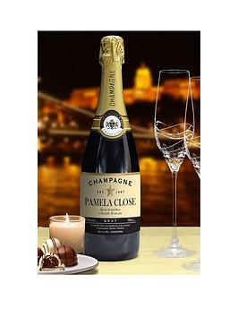 personalised-champagne-in-silk-box