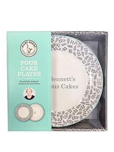 the-mary-berry-collection-personalised-mary-berry-set-4-cake-plates