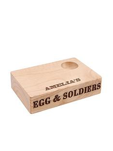 personalised-egg-amp-soldiersnbspwooden-board
