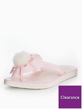 ugg-poppy-pom-pom-flip-flopsnbsp--pink