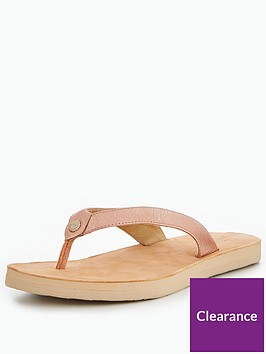ugg-tawney-flip-flops-ndash-rose-gold