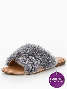 ugg-joni-fringed-slip-on-sandal-grey