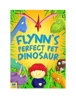 personalised-pet-dinosaur-book-softback