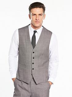 skopes-hayden-birdseye-waistcoat-light-grey