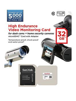 Sandisk Sandisk High Endurance Microsd For Security/Dash Cam - 32Gb Picture