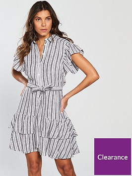 v-by-very-stripe-linen-dress