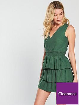 v-by-very-tiered-linen-dress-khaki