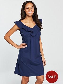v-by-very-cotton-mini-dress-navynbsp