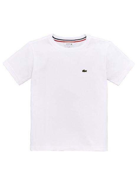 lacoste-boys-classic-short-sleeve-t-shirt-white