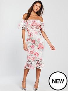 v-by-very-frill-hem-printed-lace-pencil-dress-ivorynbsp