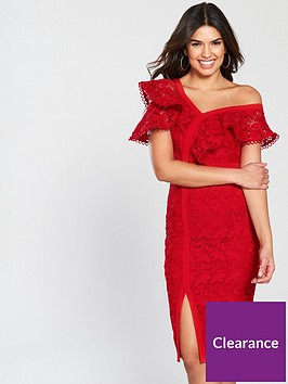 v-by-very-lace-frill-pencil-dress