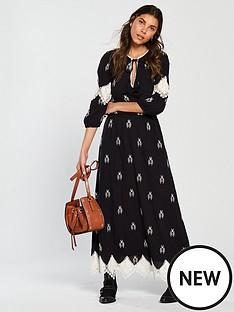 v-by-very-monochrome-embroidered-crochet-trim-midaxi-dress