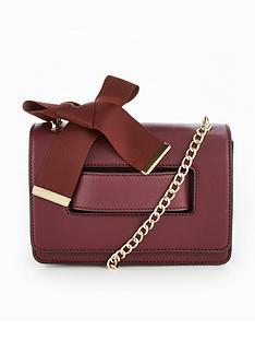 v-by-very-ribbon-detail-crossbody-bag-burgundy