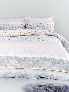 catherine-lansfield-marble-stripe-duvet-cover-set