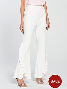 v-by-very-frill-flare-trouser-whitenbsp