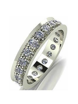 Love DIAMOND Love Diamond 9Ct Gold 1 Carat Diamond Eternity Ring Picture