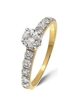 love-diamond-9-yellow-gold-1-carat-diamond-solitaire-040ct-ampnbspset-shoulders-060ct-ring