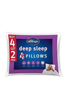 Silentnight Deep Sleep Pillows - Set of 4(plus 2 extra FREE!)