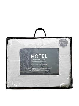 Hotel Collection Hotel Collection Ultimate Luxury White Goose Down 15 Tog  ... Picture