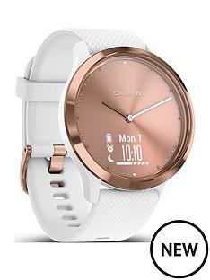 garmin-vivomove-hr-sport-smartwatch-rose-goldwhite-sm