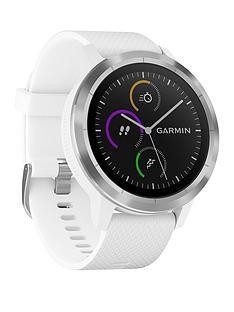 garmin-vivoactive-3-white-stainless-steel