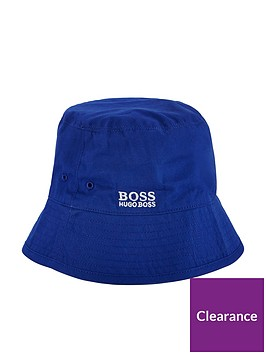 boss-boys-reversible-logo-bucket-sunhat