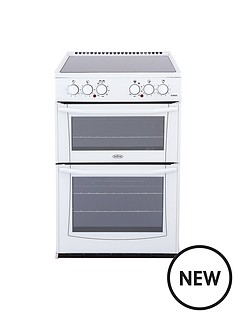 belling-bel-enfield-e552-55cm-electric-ceramic-double-oven-white