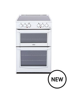 belling-bel-enfield-e552-55cm-electric-ceramic-double-oven-white-with-connection