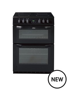 belling-bel-fse-60-dop-60cm-electric-ceramic-double-oven-black