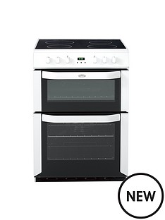 belling-bel-fse-60-dop-60cm-electric-ceramic-double-oven-white-with-connection
