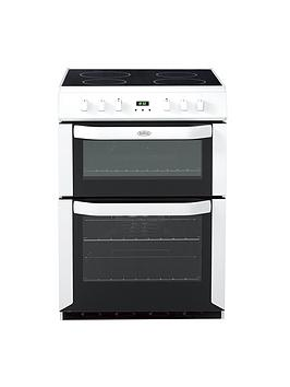 belling-bel-fse-60-dopnbsp60cm-electric-ceramic-double-oven-with-connection-white