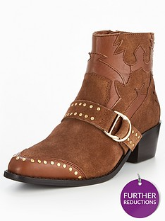 v-by-very-tilly-real-suede-studded-western-boot-tan