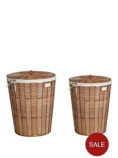 ideal-home-natural-woven-set-2-laundary-baskets