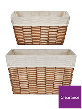 ideal-home-natural-woven-set-2-rectangluar-handled-baskets