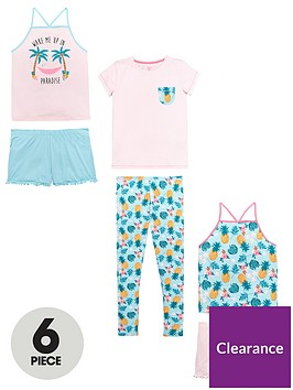 v-by-very-6-piece-tropical-pj-set