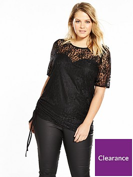 v-by-very-curve-lace-ruched-detail-tunic
