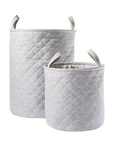 set-of-2-quilted-laundry-hampers