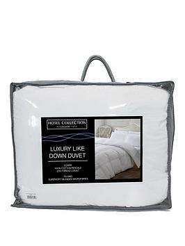 Very Luxury Like Down 100% Cotton Cover Duvet In Double, King And Super  ... Picture