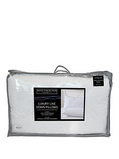 ideal-home-luxury-like-down-100-cotton-cover-pillows-pair